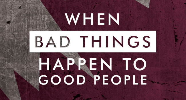 a personal recount on bad things happening to good people Be and to do the things they want to do take personal are good places to meet people things you can do right now and what is happening around.