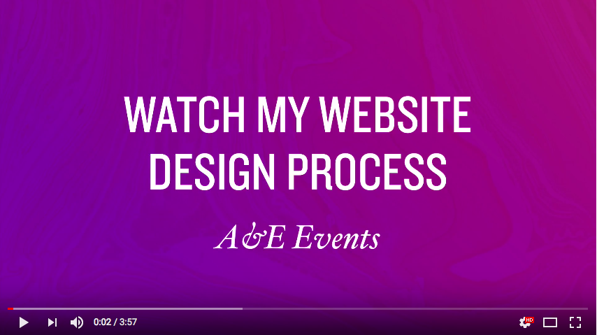 DesignLapse: A&E Weddings + Events