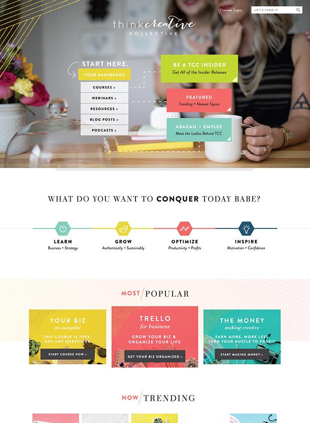 ... Strategic Web Design Think Creative Collective ...